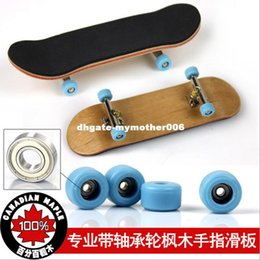 $enCountryForm.capitalKeyWord Canada - AUTOPS Hot Sale Professional Maple Wood Finger Skateboard Alloy Stent Bearing Wheel Fingerboard Adult Novelty Toy for Gift