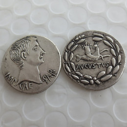 bc box 2019 - RM(13)Ancient Roman Silver Cistophoric Tetradrachm Coin of Emperor Augustus - 25 BC Nice Quality Coins Retail  Whole Sal