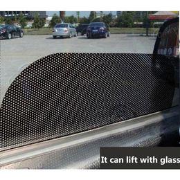 $enCountryForm.capitalKeyWord NZ - Car Accessories UV Protection Side Window Film Curtain Windshield Sticker Sun Shade Sticker Car Sticker 63cm*42cm 4pcs Per Set