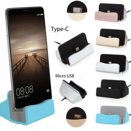Android docking stAtion online shopping - Type c Micro Docking Stand Station Cradle Charging Dock Charger For Samsung Galaxy s6 s7 edge s8 s10 note htc android phone with box