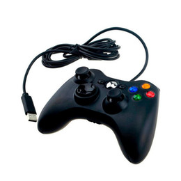 Chinese  Wired Joystick for XBOX 360 Controller Joypad Joystick For Microsoft XBOX 360 Joypad With Retail Packing manufacturers