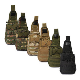 Wholesale Outdoor Tactical Backpack Chest Bag Shoulder Bags Single Shoulder Bag Outdoor Sports Motorcycle Ride Bicycle Bag