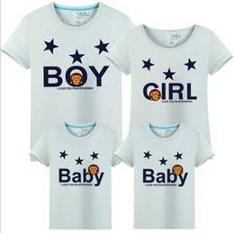 1b13226c 2017 fashion T-shirt free shipping Parent-child photography clothing  cartoon Family Matching Outfits Couple Tees cotton T-shirt wholesale XF