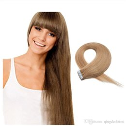 Longest tape hair extensions online longest tape hair extensions beauty long remy human hair extensions 20pcs pu skin weft silky straight tape in indian remy hair extensions free shipping multi color pmusecretfo Image collections