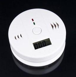AlArm sensor door window online shopping - High Sensitive Digital LCD Backlight Carbon Monoxide Alarm Detector Tester CO Gas Sensor Alarm For Home Security Safety White