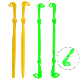 fly tying tools 2018 - Wholesale- Easy Hook Loop Tyer & Disgorger Tool Tie Fast Knot Tying Tool for Fly Fishing Hook Tools Line Tier Kit Yellow