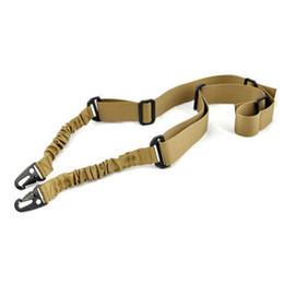 1Pcs Army Green Outdoor Sling Bungee Регулируемый 2-х точечный охотничий ремешок Bungee Hunting Accessories