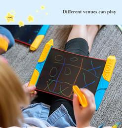 Tablero de dibujo electrónico para niños Tablero pintado a mano Scribble LCD Color Rainbow en venta