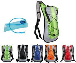 Outdoor sports Wasser Tasche Radfahren Fahrrad Rucksack Wasser Pack 5L Blase Buckel Rucksack TPU Beutel Trinksystem für Wandern Klettern im Angebot