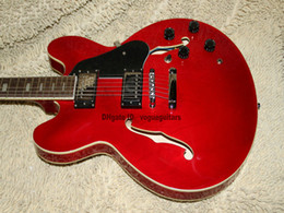 Guitars Electric 335 Red NZ - New Arrival Custom Shop 335 Jazz Guitar In Stock High OEM Electric Guitars Free Shipping