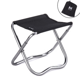 Wholesale-Mini Folding Beach Chair Lightweight Easy To Carry Outdoor Fishing Stool C&ing Gargden Portable train Chair with a Bag  sc 1 st  DHgate.com & Portable Stools Fold Online | Portable Stools Fold for Sale islam-shia.org