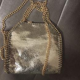 wholesale falabella stella 20Colors 25cm small size shaggy deer luxury  fashion handle crossbody classical 3 chain lady shoulder bag bb93016840e11