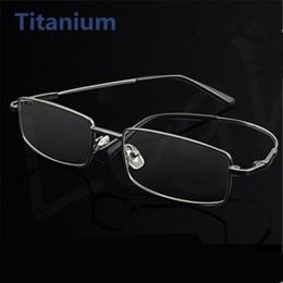 c516a6d7fe9 Titanium Frames Spectacles Canada - Wholesale- Fashion Memory Titanium  Glasses Men Women Spectacle Eyeglasses Frame