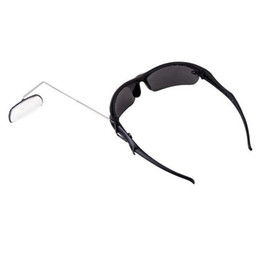 b7bf169589ba Wholesale- New Flexible 360 Degree Adjustable Bike Bicycle Riding Glasses  Mirror Lightweight Alloy Sunglasses Rearview Rear View Mirrors