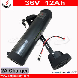 $enCountryForm.capitalKeyWord Canada - Electric Bicycle Battery 36V 12Ah Water Bottle Style For eBike Motor 800W With 42V 2A Charger 30A BMS Lithium eBike Battery 36V