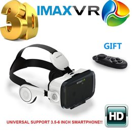 Wholesale 2016 Newest Original BOBOVR Z4 3D Glasses VR Virtual Reality Headset 3D Video Game Private Theater with Headphone+Controller