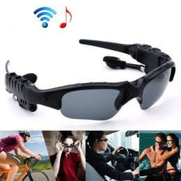 $enCountryForm.capitalKeyWord Canada - Oldshark Wireless Music Sunglasses with Stereo Hands free Bluetooth 4.1 Headset Headphone Free Replaceable lens For Many Phones 50-EJ