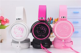 $enCountryForm.capitalKeyWord Canada - Cartoon earphone headset cute hello kitty headphones for iphone samsung Mobile Phone MP3 MP4 Computer for iphone samsung xiaomi headset
