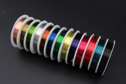 Tie Thread Canada - 13 Assorted Colors Fly Fishing 0.3mm Super Thin Copper Thread Copper Wire Fly Tying Materials