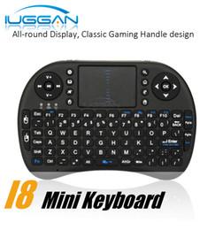 $enCountryForm.capitalKeyWord Canada - Rii I8 Fly Air Mouse Mini Wireless Handheld Keyboard 2.4GHz Touchpad Remote Control For M8S MXQ MXIII TV BOX Mini PC DHL