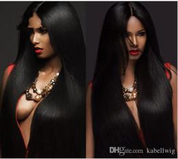$enCountryForm.capitalKeyWord NZ - Virgin Hair Density Is Greater Than 150 Silk Wig Full Lace Wig My Shoes And Basis Of Brazil 5.5 x 5.5 Silk Baby Hair Wigs Higher Cordon Silk