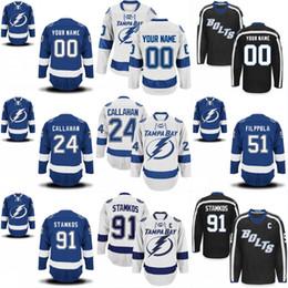 Tampa Bay Lightning Jersey 9 Tyler Johnson 14 Chris Kunitz 24 Ryan Callahan  31 Peter Budaj 51 Valtteri Filppula 86 Nikita Kucherov Jerseys c9a004191