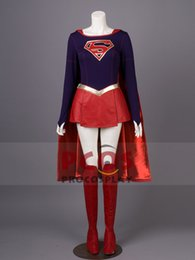 Wholesale supergirl cosplay for sale - Group buy Best Supergirl Kara Cosplay Costume