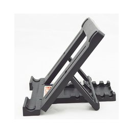 Foldable Desk Stand For Tablets UK - Adjustable Foldable MP4 Tablet Desk Stand Holder From 5 Comfortable Angles Tablet E-readers Bracket for Tablet iPad