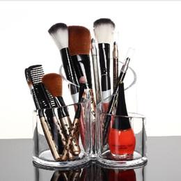 $enCountryForm.capitalKeyWord NZ - Acrylic Makeup Brush Organiser Cosmetic Holder Makeup Display Rack Box storage box rangement maquillage