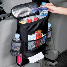 $enCountryForm.capitalKeyWord Canada - Auto Car Back Seat Boot Organizer Trash Net Holder Multi-Pocket Travel Storage Bag Hanger for Auto Capacity Storage Pouch