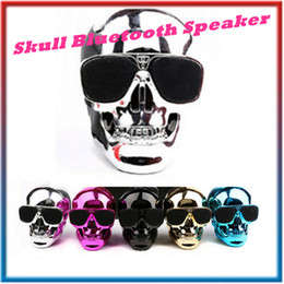 $enCountryForm.capitalKeyWord Canada - New Portable Skull Bluetooth Speakers Skull Head Ghost Wireless Stereo Subwoofer Mega Bass 3D Stereo Hand-free Audio Player Mini Speaker DHL