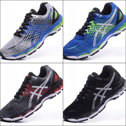 2017 Wholesale Price New Style Asics Nimbus17 Running Shoes Men Shoes Comfortable Discount Sports Shoes Sneakers Free Shipping Eur 36-45 cheap cycle styles from cycle styles suppliers