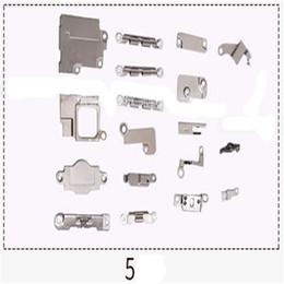 Full Set Zubehör Innen Kleinteile PCB Metall Eisen Halterung Schild Platte Montage Für iPhone 5 5 s 5c 6 6 S 6 P 7 Plus im Angebot