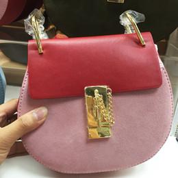 Newest desigN fashioN shoulder bags online shopping - Newest Fashion Brand Design Women Genuine Leather Messenger Bag Small Chain Bag Female Real Cowskin Shoulder Bag