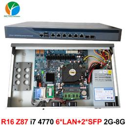 $enCountryForm.capitalKeyWord Canada - 1U 6 LAN Firewall network server quad core i7 4770 with 8 Ports 6*1000M 82574L Gigabit Nics 2* intel 82599ES SFP
