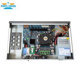 Venta al por mayor de Partícipe R9 Quad Core i7 3770 1U red Firewall hardware del dispositivo router con 6 puertos 6 * 1000M 82583V Gigabit Nics