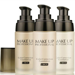 Discount oil based foundation brands - Wholesale-2016 Brand Makeup Base Face Liquid Foundation BB Cream Concealer Moisturizer Oil-control Whitening Waterproof