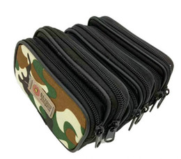 China Free DHL Multifunctional camouflage Waist Bag Canvas Mini Cell Phone Case Belt Waistpacks Coin Purse 13*8.5cm For Men supplier canvas cell phone cases suppliers