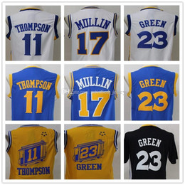 81b95589caf ... NBA Golden State Warriors 17 Chris Mullin Soul Swingman White Jersey  Man 11 Klay Thompson 17 Chris mullin 23 Draymond Green Throwback Jerseys  Stitched ...