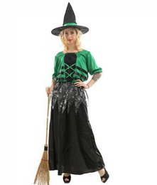 tv adults free Canada - witch costume adult women for halloween festival cosplay devil wizard costume carnival costume
