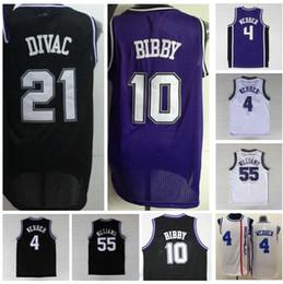 f32d3ac94 ... Mens Retro 10 Mike Bibby Jersey Rev 30 55 Jason Williams Throwback Shirt  4 Chirs Webber 2000-01 21 Vlade Divac Sacramento Kings ...