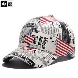 7ad481ec2f7 Wholesale-  Wuke  PU Leather Baseball Cap Retro Map Design Snapback Bone  Hats for Men or Women Z-5285