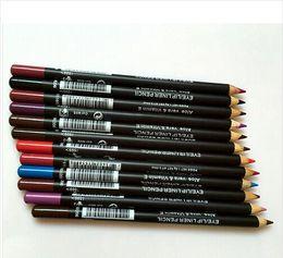Großhandel FREIES VERSCHIFFEN HEISSE gute Qualität Niedrigster meistverkaufter guter Verkauf neuer Eyeliner Lipliner Bleistift Zwölf verschiedene Farben