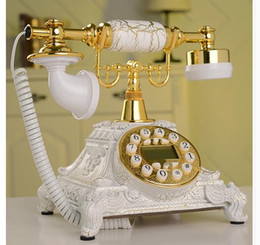 european telephone antique 2019 - Decoration Arts crafts home Diana creative process   antique European style ancient marble Telephone Phone creative chea
