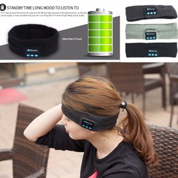 $enCountryForm.capitalKeyWord Canada - Wireless Stereo Bluetooth 3.0 Outdoor Sleeping Headband Sports Headset Fashionable Hands-free Bluetooth Magic Music Fillet Headphone Speaker