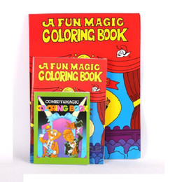 2017 coloring book magic trick free shipping large size 2821cm funny coloring book comedy - Magic Coloring Book