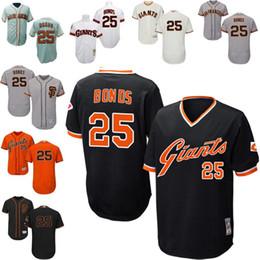 867629f5ad0 ... netherlands mlb san francisco giants black white grey orange cream  throwback barry bonds authentic jersey mens