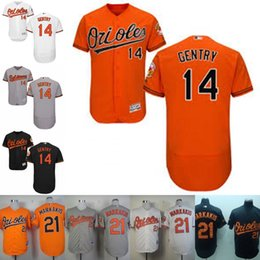 07454c8d9 Men Baltimore Orioles Jerseys 14 Craig Gentry 21 Nick Markakis Stitched  Coolbase Baseball Jersey Free Shipping ...
