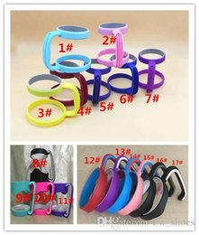 Wholesale 16 style plastic Handle for mug ounce ounce Holder Fit for stainless steel cup Drinkware Handle