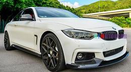 $enCountryForm.capitalKeyWord Canada - P Style 3K FRP Front Bumper Lip Spoiler F32 F33 F36 MTECH Fit For BMW